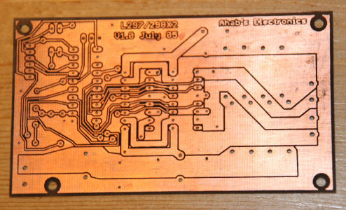 Homebuilt circuit board