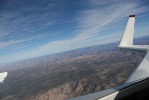 Flying by the Grand Canyon